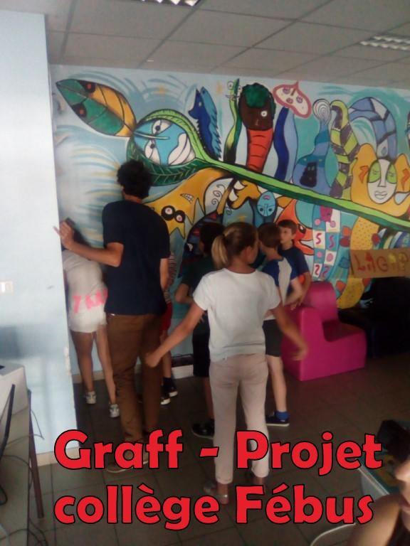184graff, projet collège Fébus