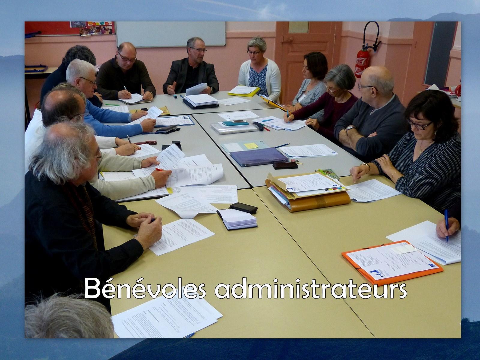 Bénévoles administrateurs (1)