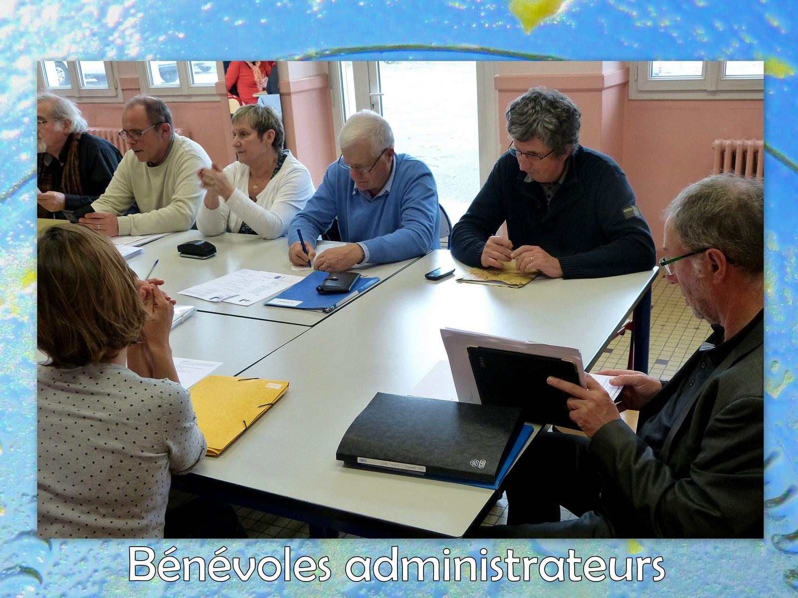 Bénévoles administrateurs (2)