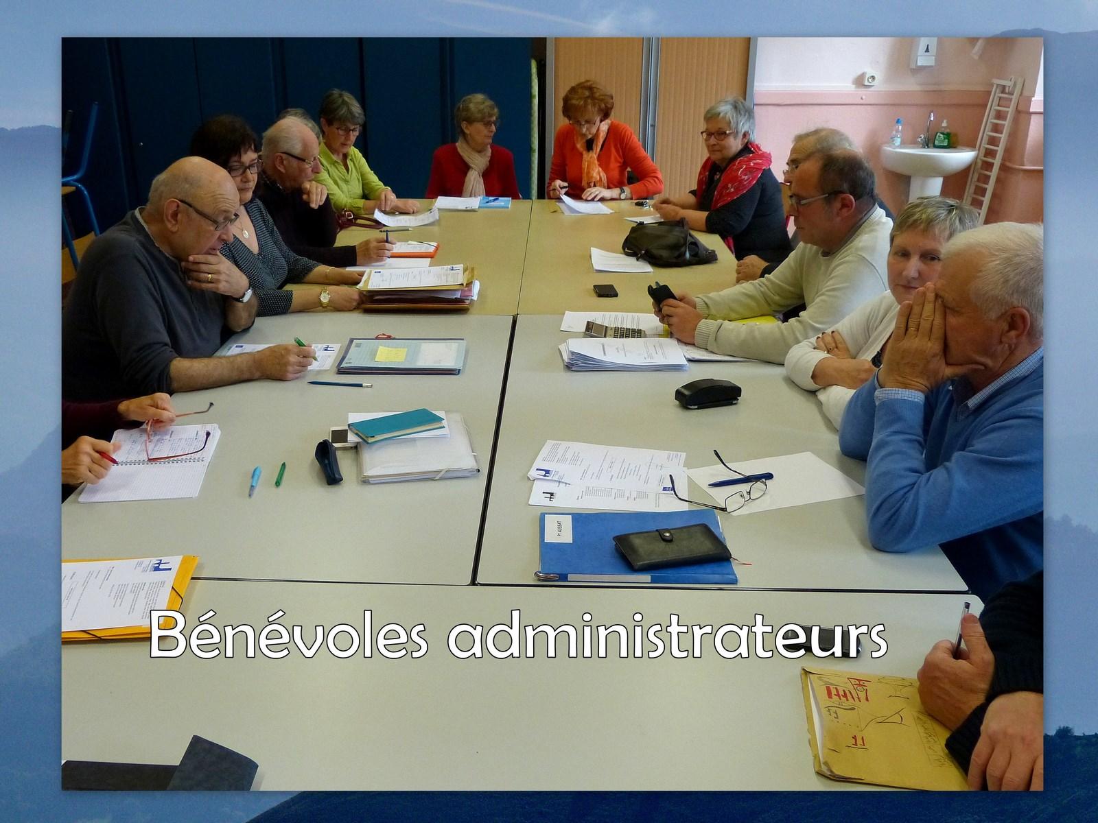 Bénévoles administrateurs (3)