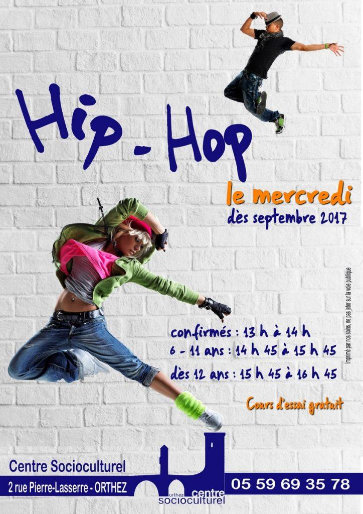 Affiche Hip Hop 2017-2018 FG