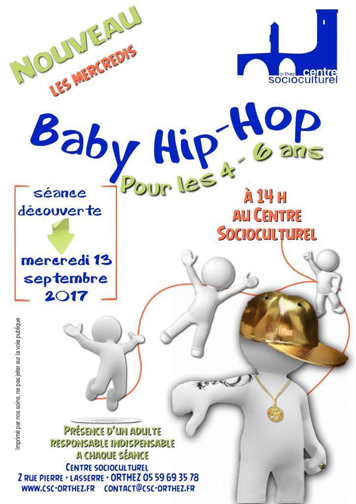 Baby hip hop csc