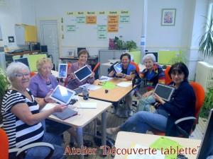 Atelier tablette