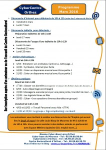 cybercentre mars 16