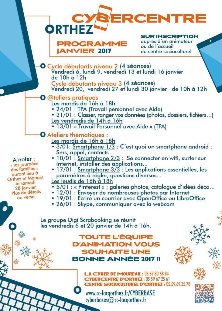 CyberCentre janvier 2017