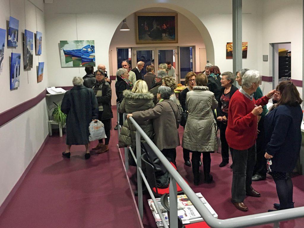 Vernissage expo C. Barrière