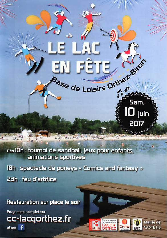 Lac en fête 10-6-17