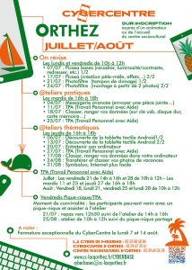 CyberCentre programme-orthez-juillet-aout