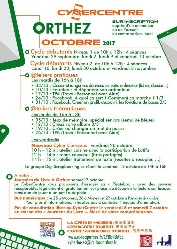 CyberCentre programme_oct