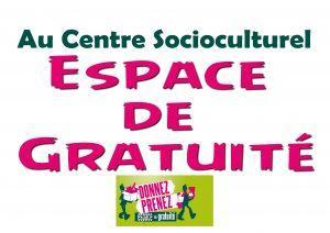 Au CSC espace gratuité
