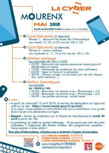 Programme La Cyber mai 2018