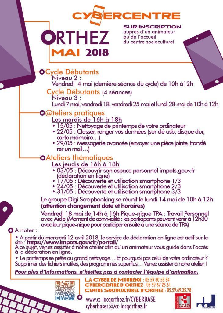 CyberCentre mai 2018