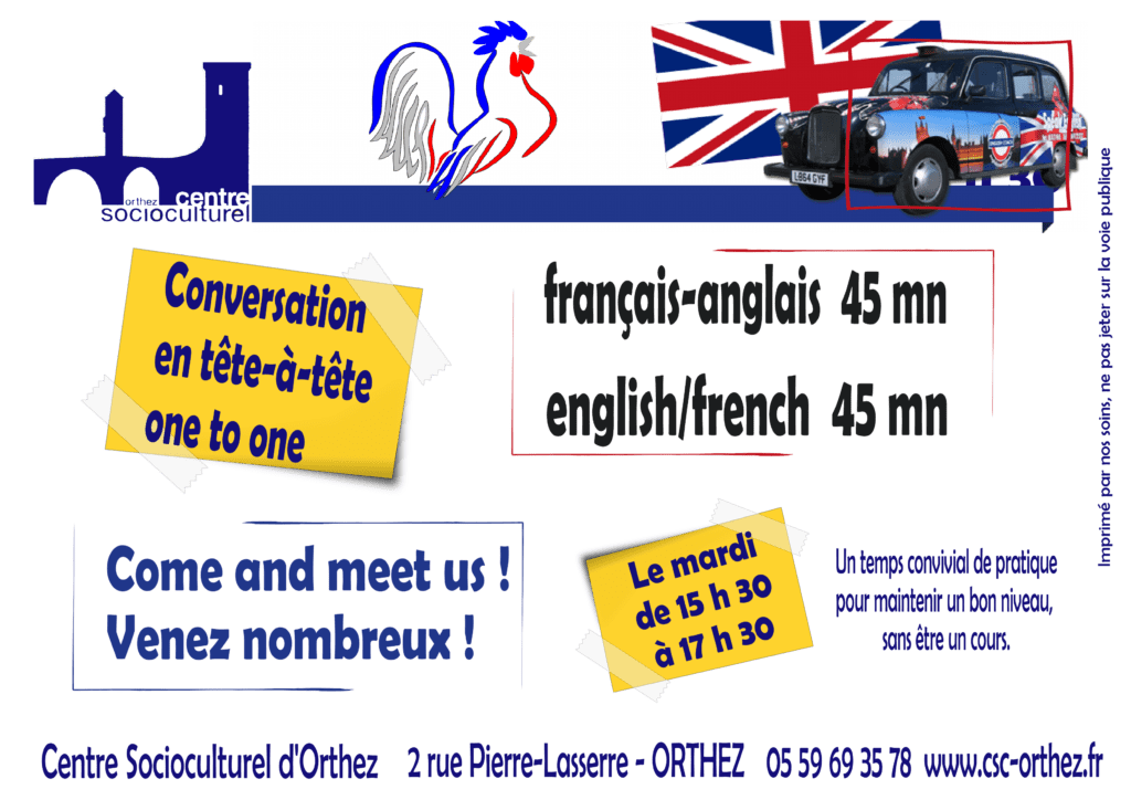 Conversations Anglais - Français
