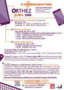 CyberCentre Juin 2018 orthez