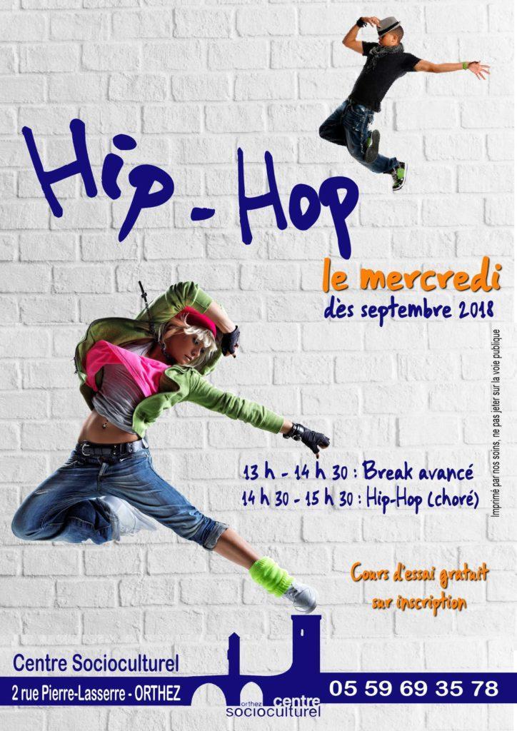 Affiche Hip Hop Jeunes 2018-2019.