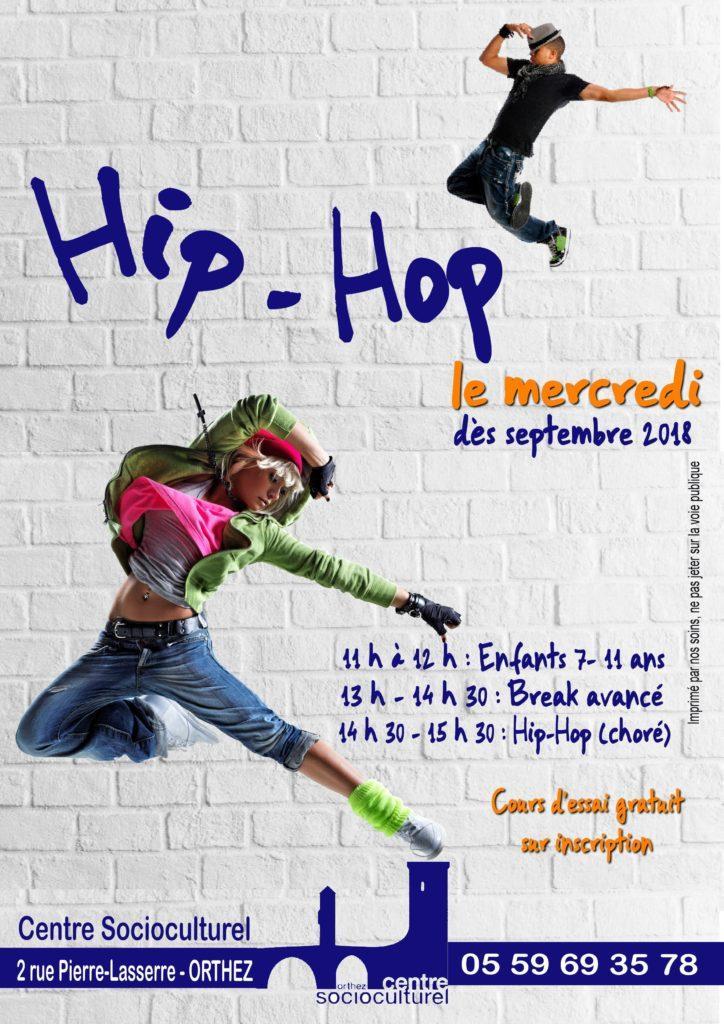Affiche Hip Hop enf jeu 2018-19