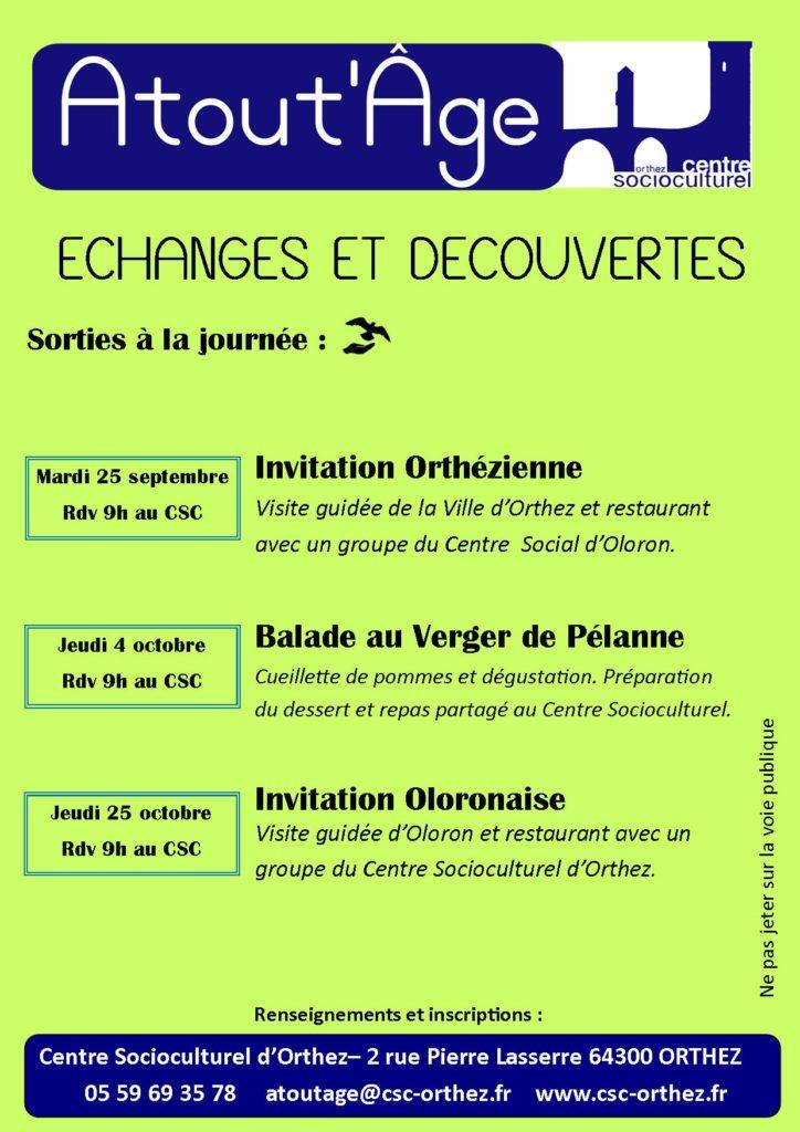 Atout'Âge - Echanges et Découvertes T1-1