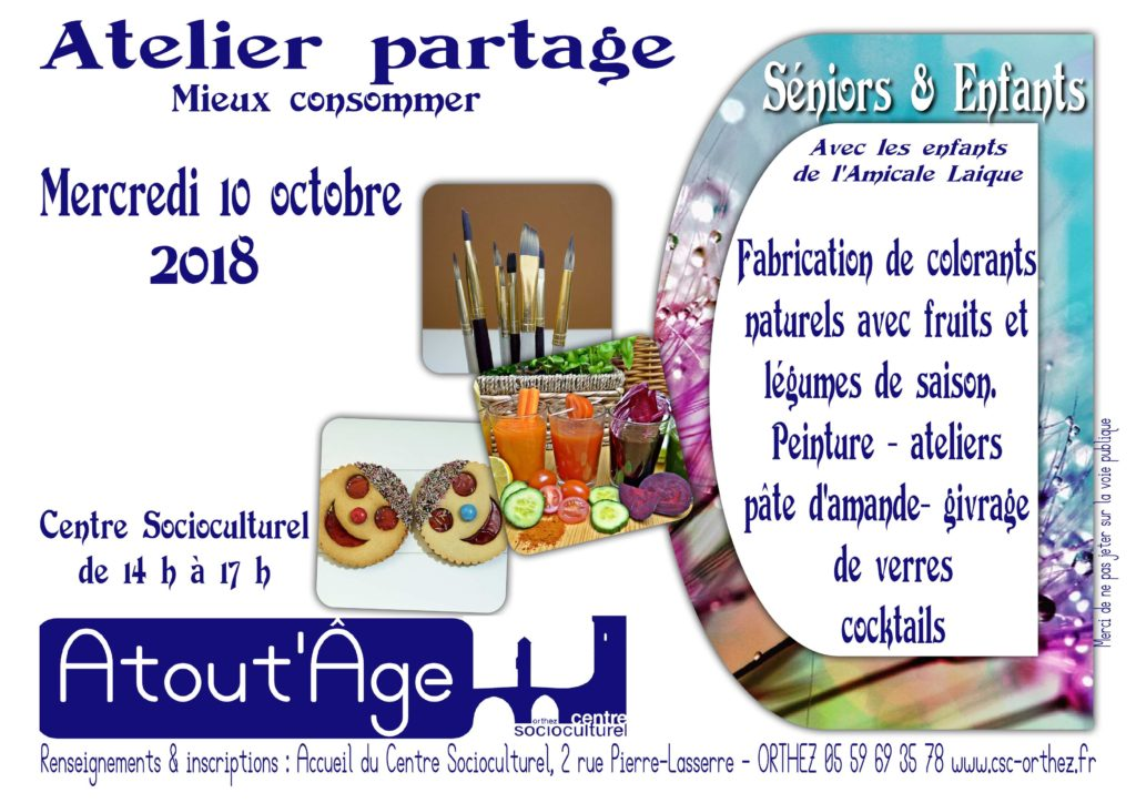 Atelier Partage 10 oct