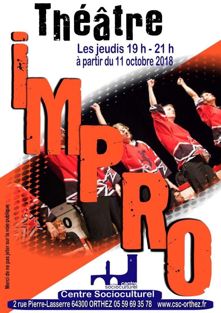 Impro Théâtre CSC 2018-2019