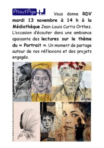 Atout'Âge - RDV médiathèque