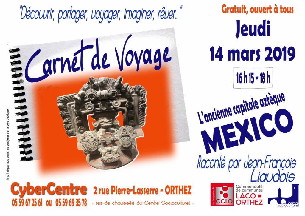 Carnet de voyage Mexico2019