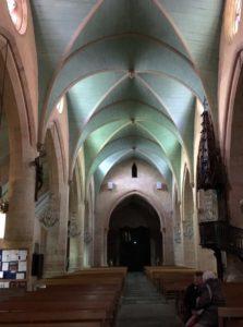 2.Intérieur Eglise Sainte Foy de Morlàas