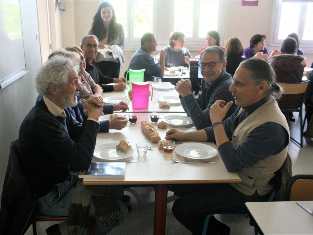 Braderie 2019 : Repas des bénévoles