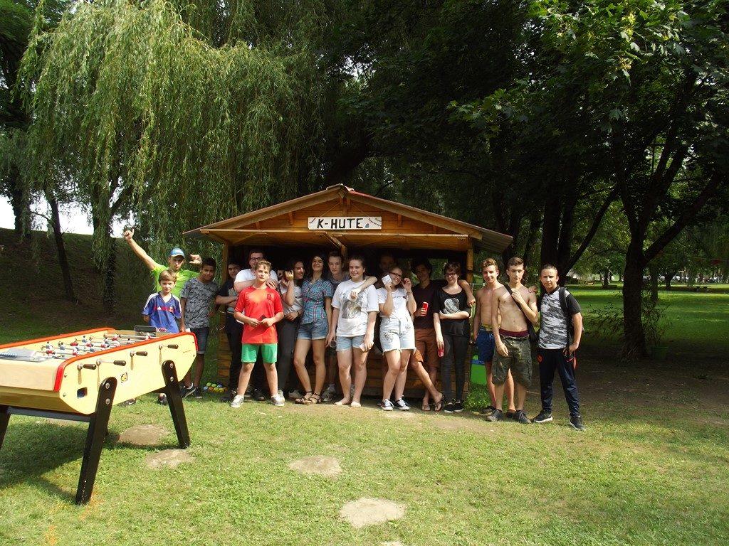 K-Hute lieu d'accueil éphémère en juillet