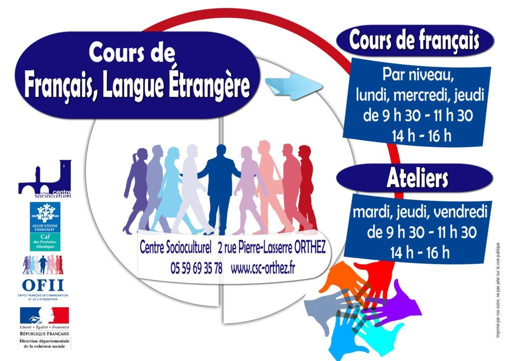Francais Langue Etrangere 2019-2020