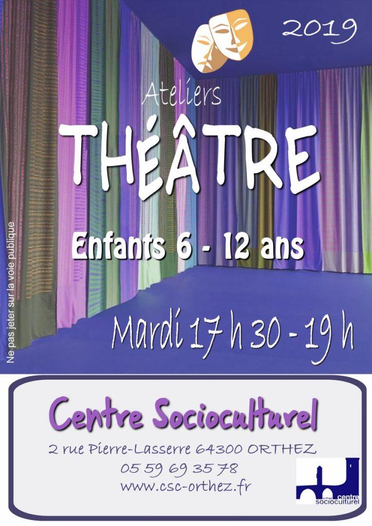 Théâtre enfants 2019-2020