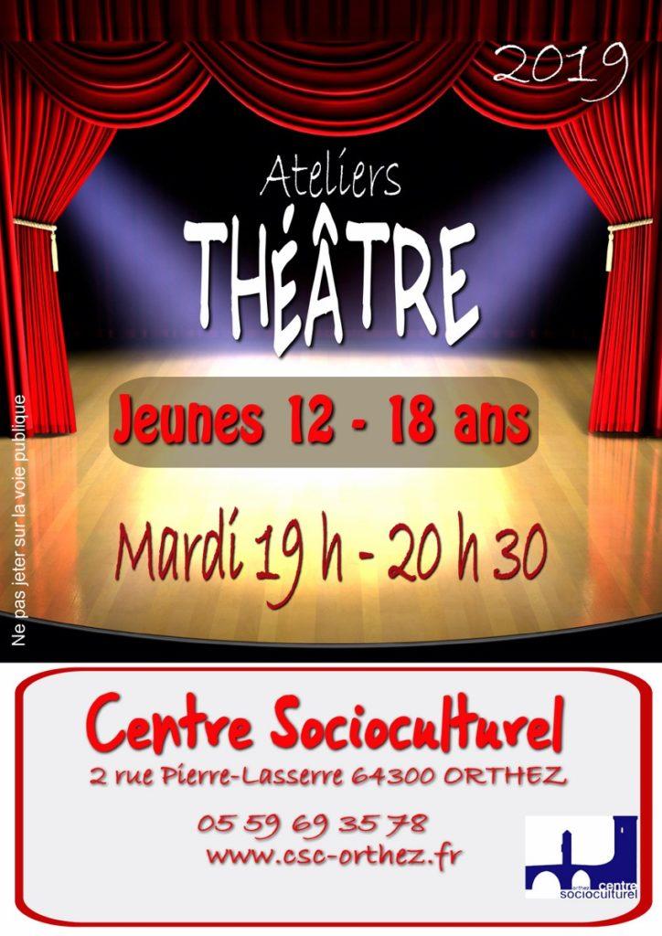 Théâtre jeunes 2019-2020