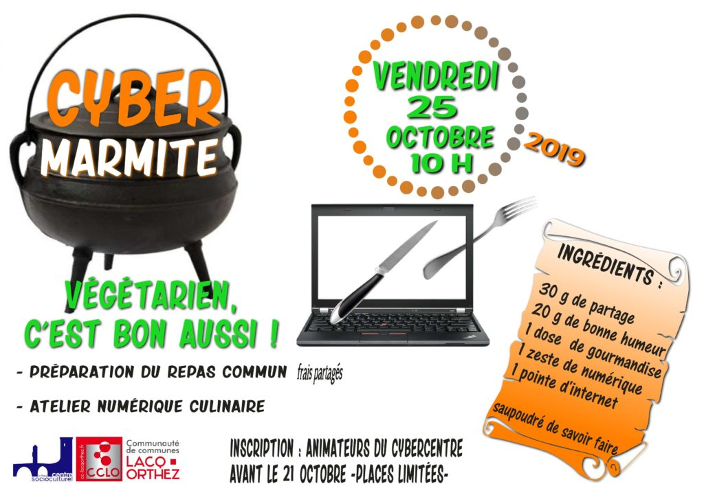 CyberMarmite 25 octobre 2019
