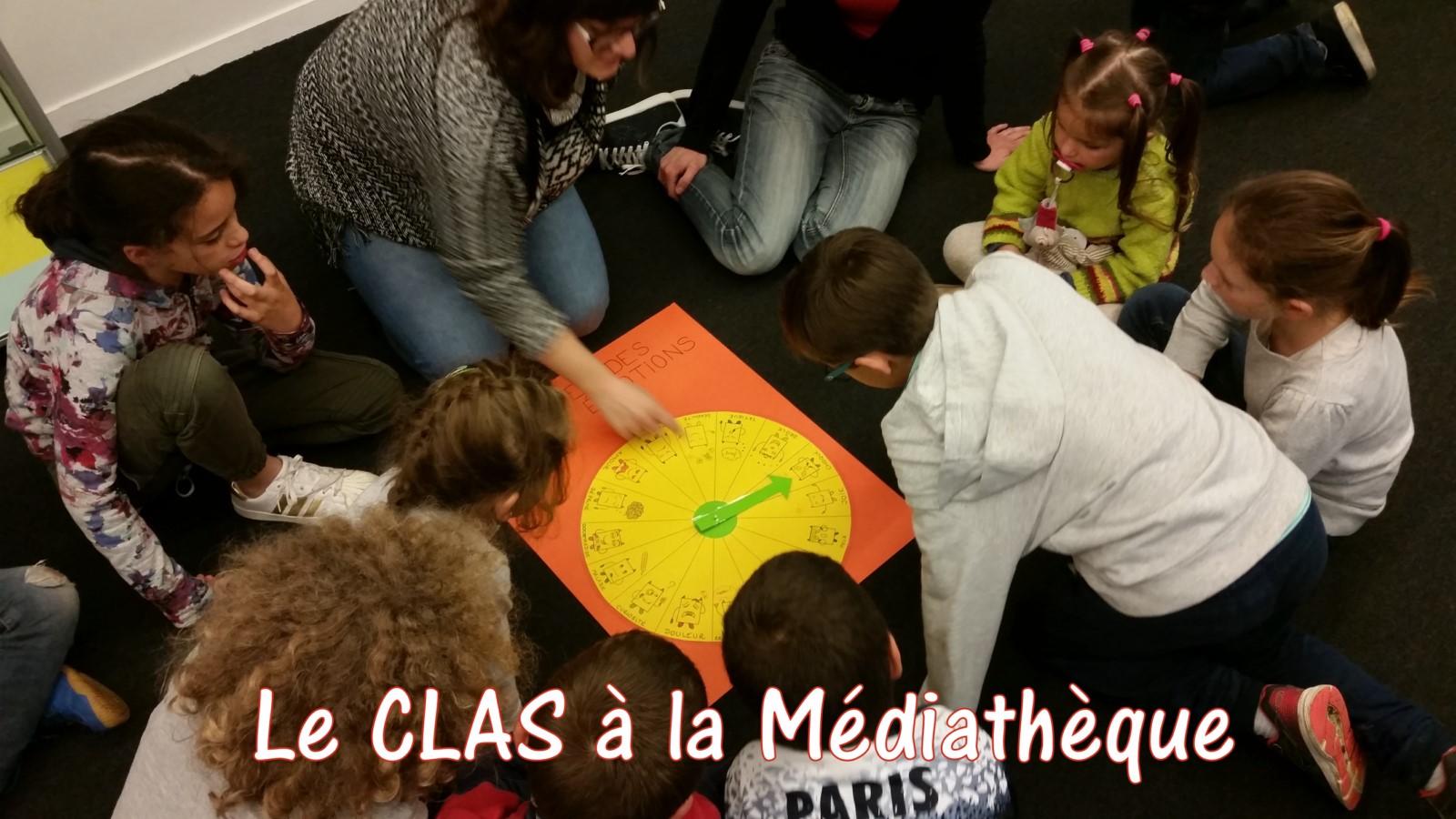 176Le CLAS à la Médiathèque