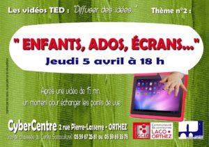 TEDx 2 Ecrans