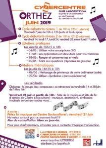 CyberCentre Juin 2019 orthez