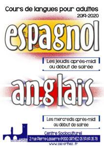 Cours de langues CSC