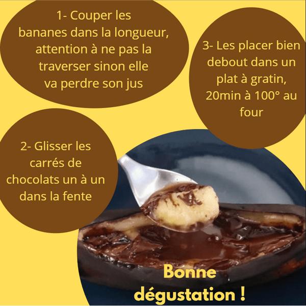 Bananes chocolat
