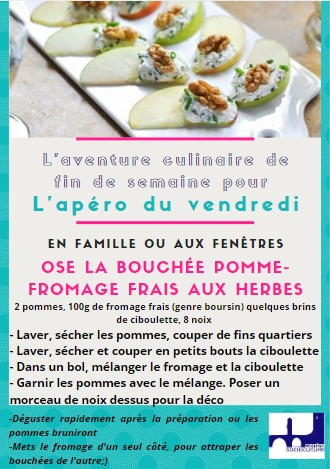 Bouchées pomme fromage