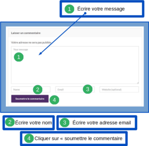 commentaire site
